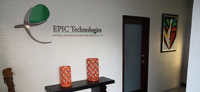 Epic Technologies Entrance