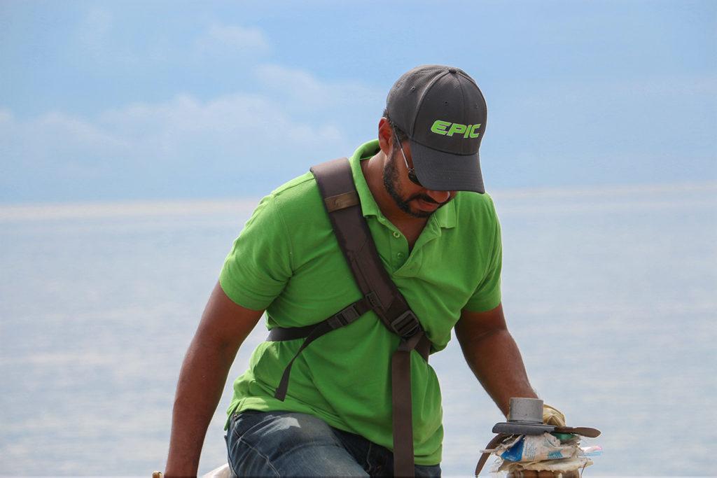 Epic Technologies Beach Clean up 2019