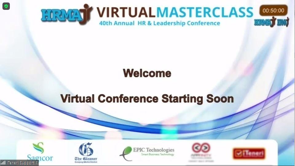 HRMAJ 40 Master Class sponsored by Epic Technologies