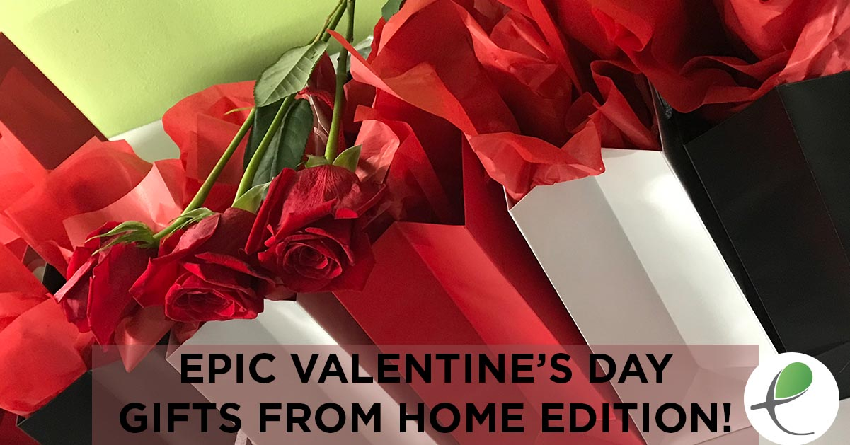 Epic Valentine's Day 2021 Staff Gift Delivery